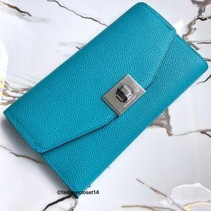 Cassie Trifold Wallet Michaelkors Blue